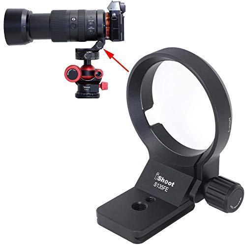 Supporto per supporto per treppiedi per Sony FE 135mm f/1.8 GM, E 70-350mm f/4.5-6.3 G OSS, E 16-55mm f/2.8G, FE Mount Tamron 28-75mm f/2.8 Di III RXD e 17-28mm f/2.8 Di III RXD