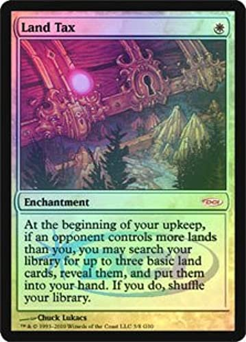 Magic  The Gathering Land Tax Foil dCi Judge Promo Judge Sonderangeboten Foil by Magic  The Gathering