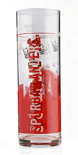 """1. FC Köln KÖLSCHGLAS BIERGLAS Glas Limited Edition 11\"""" 4020200"""