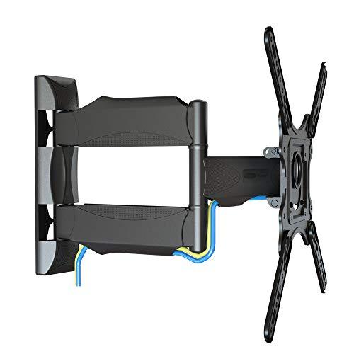 """NB P5 – Supporto da parete orientabile robusto per TV LCD LED, 32 - 55"""", VESA 200-400, test di resistenza TUV: 108 kg"""