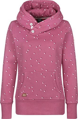 Ragwear Chelsea Hearts Sweatshirt Rose L