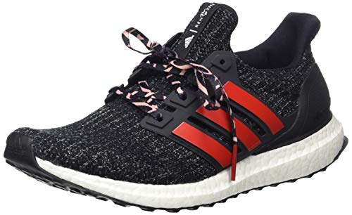 adidas Men's Ultraboost Fitness Shoes, Multicolour (Negbás/Escarl/Gritre 000), 9.5 UK