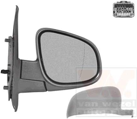 Pandiki 1 par Derecho y del Lado Izquierdo reemplazo Espejo retrovisor de la Lente de Cristal para Audi A4 B8 C6 2009-2012 8T0857535E 8T0857536D