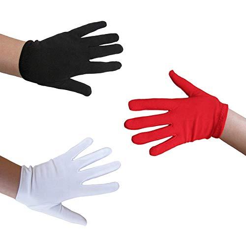 SeasonsTrading Child Black Costume Gloves - Halloween Costume Accessory (STC12099)