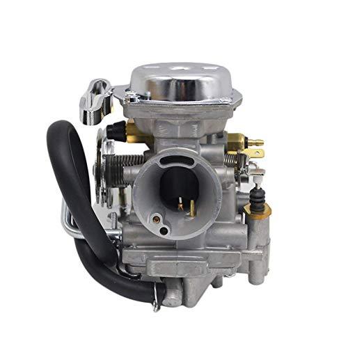 QIBIN Repuesto para carburador de motor, carburador de motocicleta de 26 mm, compatible con Yamaha Virago, XV250 Route 66 1988-2014 XV125 1990-2011 / apto para reemplazar Keihin.