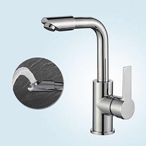 Homelody 360° Drehbar Wasserhahn Küche Küchenarmatur Spültischarmatur Spüle Armatur Mischbatterie Waschbecken Einhandmischer Waschtischarmatur f. Badezimmer