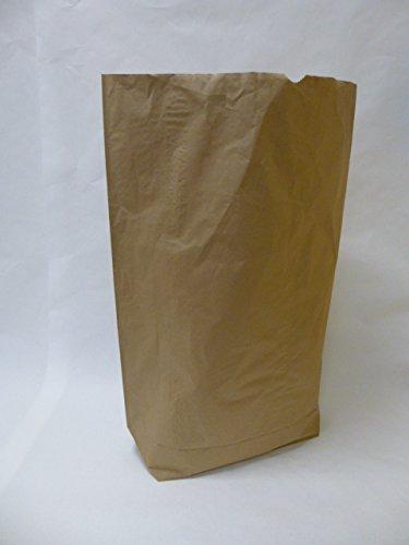 Rodenbacher Papieragentur GmbH 50 St. Papier-Bioabfallsäcke 120l Format 70x95x22 cm Motiv: unbedruckt, 2lagig, mit extra Bodendeckblatt