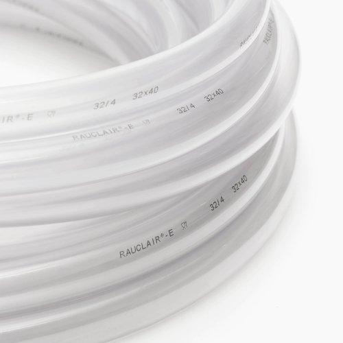 100m PVC-Schlauch 5/1,5 5x8 REHAU glasklar RAUCLAIR-E