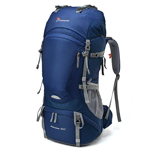 Mountaintop 65L Outdoor Hiking Backpack Camping...