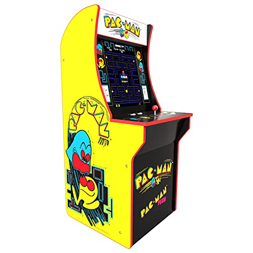 Arcade1Up Pac-Man - Classic 2-in-1 Home Arcade, 4ft