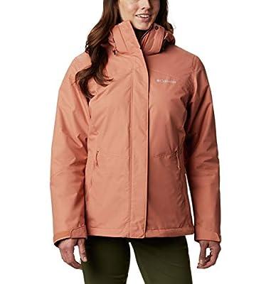 Columbia Women's Bugaboo II Fleece Interchange Jacket, Nova Pink, Large