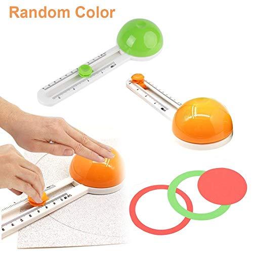 small Narrator Book Rotating Circular Paper Cutter Circle Cutter 45mm Circular Cutter for DIY Paper Craft