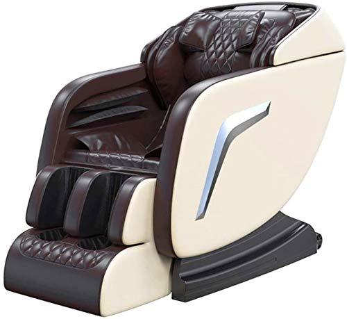 Sillón de masaje Masaje Sillón de masaje de cuerpo completo la gravedad cero eléctrico Shiatsu reclinable cintura de la calefacción de elevación con una tecla adecuado for muchos tipos de cuerpo
