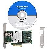 金メッキPCI-E付きE10G41BFSR / X520-SR1ネットワークカード、Windows XP/VISTA / 7/8/10(32および64ビット)用10GbpsギガビットLANカード、SCO UnixWare 7.x、Open Unix 8.0、Novell ODI、Novellネットウェアなど