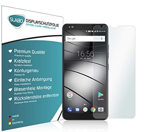 Slabo 4 x Bildschirmschutzfolie für Gigaset GS370 | GS370 Plus Bildschirmfolie Schutzfolie Folie Zubehör Crystal Clear KLAR
