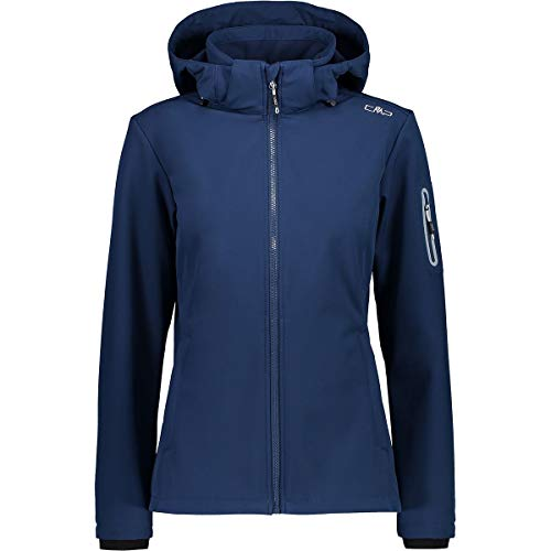CMP Damen Softshelljacke 39A5006 Jacke, Blue, D48
