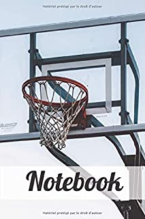 Notebook: Basketball Themed Notebook | Gift for Basketball Lovers | Composition Book | Basketballl Writing Notebook | Pape...