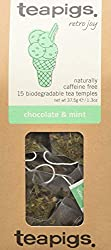 Award winning chocolate & mint tea bags made using whole leaves Dark chocolate and cool mint, a herbal treat without the calories. Loose leaf tea quality with the convenience of a biodegradable tea bag Our packaging is certified plastic-free by A Pla...