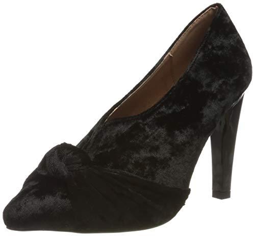 El Caballo Pilas, Zapato de tacón Mujer, Negro, 38 EU