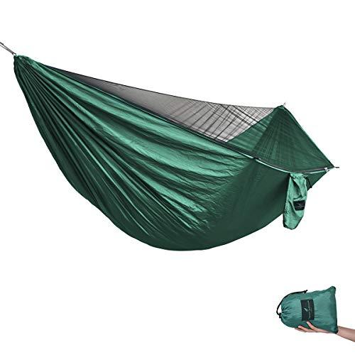 TRIWONDER Hamac de Camping 1-2 Personnes Hamac Ultra-l/éger Hamac de Voyage pour Voyage Randonn/ée Jardin Plage