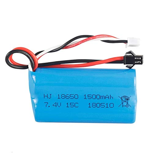 berglink 7.4v 1500mah Lipo Battery, for U12a S033g Q1 Tk H101 18650 7.4v Battery Rc Toys Drone Spare Parts Accessories 1pcs