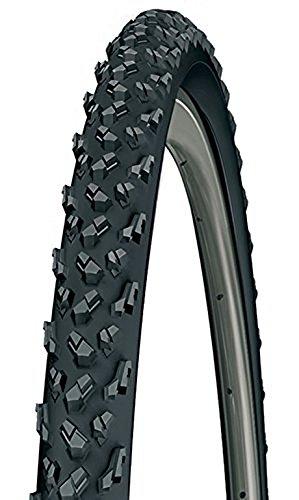 Michelin Unisex– Erwachsene Reifen Cyclocross Mud Faltbar 28 Zoll, Schwarz