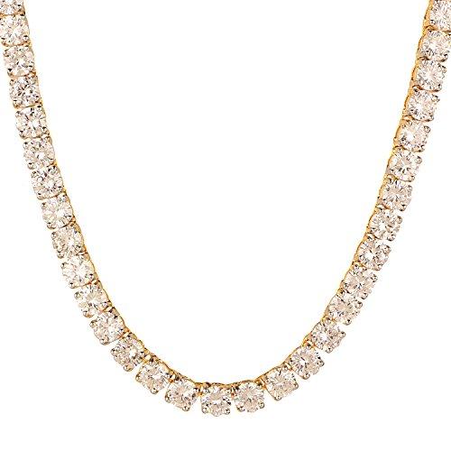 Swasti Jewels Zircon Solitaire Set Tennis Necklace Earrings