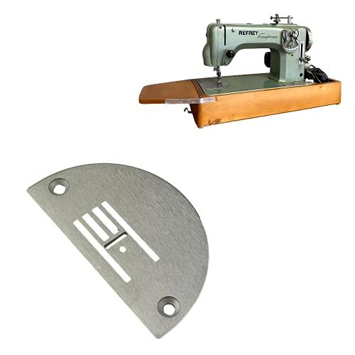 Placa de Agujas Refrey 427 y 430 (4 Hileras) - La Canilla   Compatible con Máquinas de Coser Refrey Transforma e Industrial