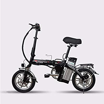 XCBY Electric Scooter Adults?Electric Mobility Tricycle?Foldable & Portable Electric Bicycle, Max 500W Motor,45KM Long Range, with Led Light and Display