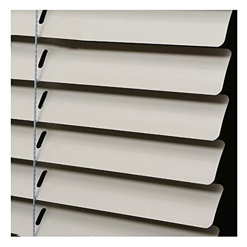 PENGFEI Tende alla Veneziana Alluminio Bagno Impermeabile Ufficio Tendina Parasole, 2 Colori, Personalizzazione Taglie (Color : B, Size : 150X220cm)
