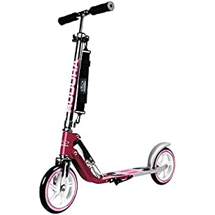 HUDORA 205mm Wheel Scooter - Magenta / Silver
