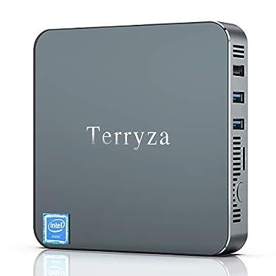 Mini PC Mini Computer 8GB RAM/120GB ROM Windows 10 Pro Intel Celeron N3350 Mini Desktop Computer, Support 2.4/5G Dual WiFi,Gigabit Ethernet, 4K HD, HDMI Ports,BT 4.2