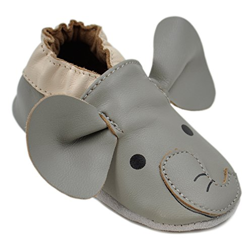 Momo Baby Unisex Soft Sole Leather Shoes Boys & Girls First Walker Toddler...