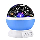 Elmchee Star Night Light for Kids, Universe Night Light Projection Lamp, Romantic Star Birthday...
