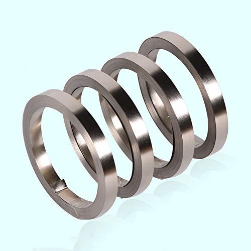 Kyt-my 1 Rolle 10m 18650 Li-Ionen-Batterie-Nickel Blech vernickelt Stahl Gurtstreifen Steckverbinderpunktschweißmaschine Batterie Schweißer (Voltage : 0.2x8mm)