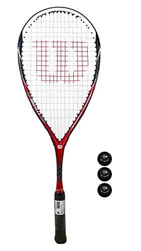 Raqueta de squash Wilson Ripper 135 BLX