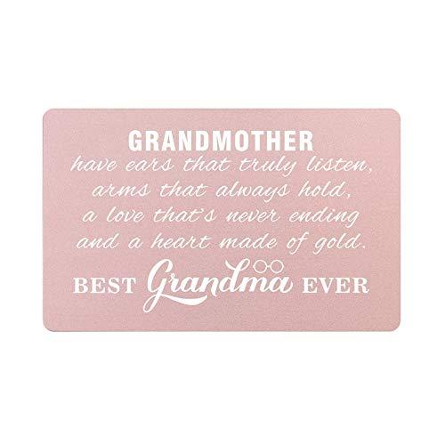 Best Grandma Ever, Grandmother Gifts for Christmas Birthday