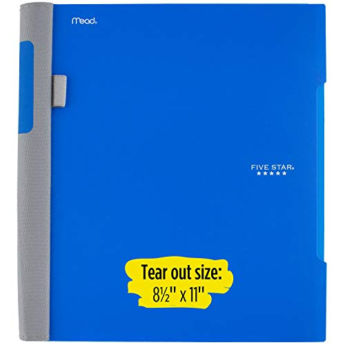 """Five Star Advance Spiral Notebooks, 1 Subject, College Ruled Paper, 100 Sheets, 11"""" x 8-1/2"""", Assorted Colors, 6 Pack (38635) Photo #2"""