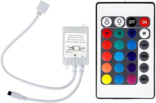 CHINS IR-Fernbedienung Controller für 5050 3528 SMD RGB LED Strip