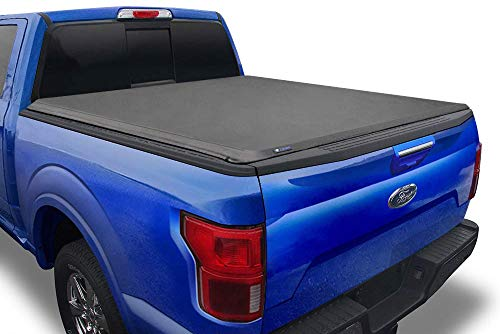 "Tyger Auto T1 Soft Roll Up Truck Bed Tonneau Cover Compatible with 2015-2021 Ford F-150 | Styleside 5.5' Bed (66"") 