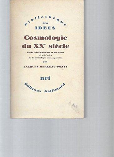 Cosmologie du XXe siècle
