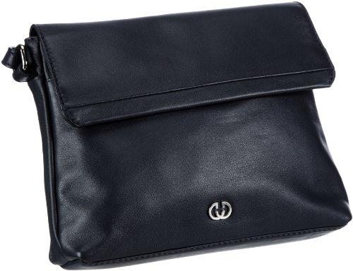 GERRY WEBER Piacenza Flap Bag M, H 4080000681 Damen Umhängetaschen 23x18x7 cm (B x H x T), Blau (dark blue)