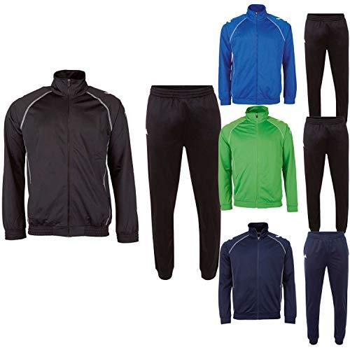 Kappa Trainingsanzug ZiATEC Team Edition | Unisex Jogginganzug - Fitness, Handball, Fußball, Größe:M, Farbe:Navy