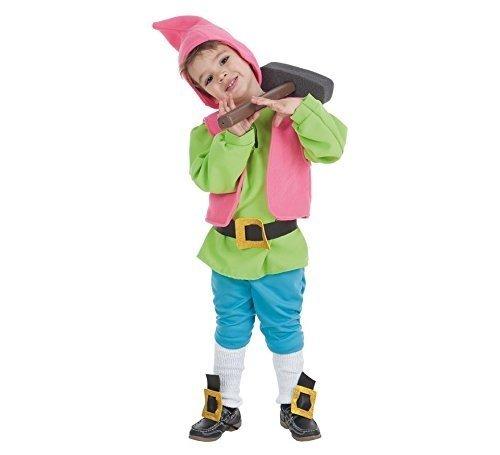 LLOPIS - Disfraz Infantil Enanito Verde t-0