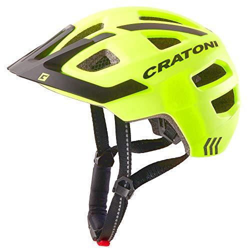 Cratoni Kinderhelm Maxster Pro-R 360° Reflection Jugendhelm Fahrradhelm, Größe S/M