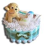 Tarta de pañales mágica para bebé, regalo para baby shower, bautismo,...