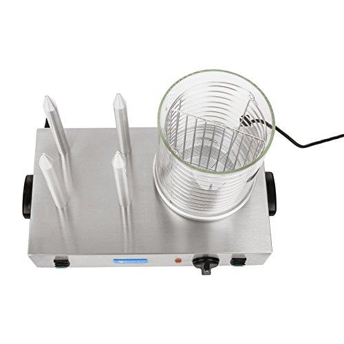 Helloshop26 3614094 Appareil machine à hot dog professionnelle, 300 W