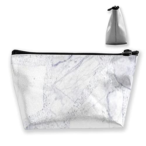 Bolsa de almacenamiento interior de mármol blanco Azure para cosméticos