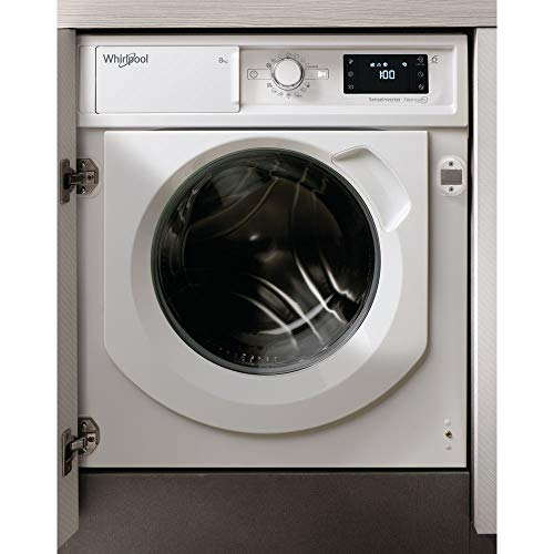 BI WMWG 81484E - Lavatrice carica frontale, installazione da incasso, 8 kg, classe A+++, 82x59.5x54.5 mm