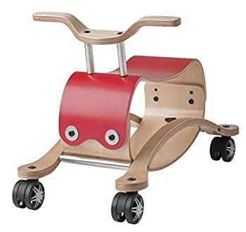 Wishbone Flip 2in1 in Red Rock and Roll Ride On for Boys and Girls Ages 12 months and 2 to 5 years